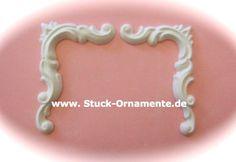Wandtattoo - Echter Stuck - Stuck Ornament - Barocke Ecken - ein Designerstück von RC-Stilmoebel bei DaWanda