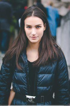 "Mila ""Mijo"" Mihaljcic Chanel - Paris Fashion Week HC SS14"