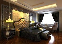 luxury bedroom villa