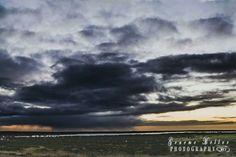 Storm at daybreak