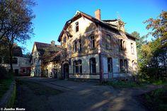 Koningsberg sanatorium (D) October 2014 abandoned sanatorium in the former East Germany DDR urbex decay Photo by: Jascha Hoste