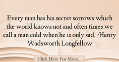 Henry Wadsworth Longfellow Quotes About Sad - 60820