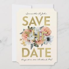 Gala Invitation, Zazzle Invitations, Invitation Design, Wedding Invitations, Save The Date Photos, Save The Date Postcards, Wedding Calligraphy, Wedding Save The Dates, Wedding Announcements