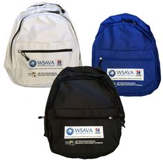 Printed Backpack for WSAVA 2014  Conference held in Cape Town, South Africa.  Backpack Suppliers in South Africa - Branded Backpacks