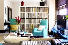 Music For Your Eyes: Beautifully Displayed Record Collections
