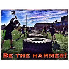 Sometimes you are the hammer. Sometimes you are the nail. ...