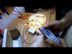 Controlador con mando RGBW Para Tiras de LED RGBW/RGBWW