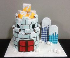 Super Mario Bros Gingerbread House!