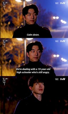 The Goblin and the Reaper Korean Drama Funny, Korean Drama Quotes, Lee Dong Wook, Gong Yoo, Goblin Kdrama Quotes, Goblin Kdrama Funny, Goblin The Lonely And Great God, Goblin Korean Drama, K Drama