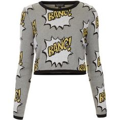 comic sweater