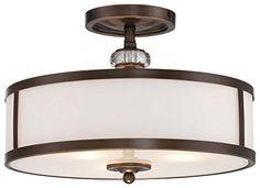 Minka Lavery 4942-570 Thorndale 3 Light Semi-Flush Mount…