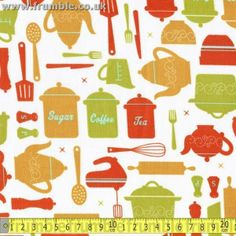 Suburbia Teatime Pom Pom Trim, Fabric Shop, Haberdashery, 9 And 10, Bag Making, Tea Time, Kids Rugs, Colours, Quilts
