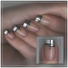 Easy to do manicure ;)