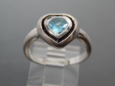 Only My Blue Heart   A Beautiful Sculpted Blue by LuisBlindFinds