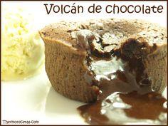 volcan chocolate Volcán de chocolate