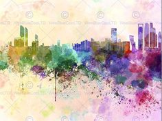 http://www.ebay.co.uk/itm/PAINTING-ABSTRACT-CITYSCAPE-ABU-DHABI-UAE-PAINT-SPLASH-SKYLINE-POSTER-BMP11639-/172184337992?hash=item2816fc7e48:g:KP0AAOSw1DtXIes3