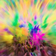 2012 Holi Festival of Colors at Spanish Fork, Utah.