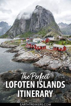 Lofoten Islands itinerary. The complete guide to planning your perfect road trip through the Lofoten Islands, including the best things to do, how to get here, and how to plan your time. #norway #lofotenislands #lofoten