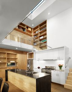 Kitchens Under the Stairs-17-1 Kindesign