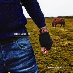 Cowboysbag | First a coffee
