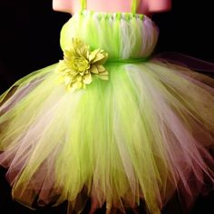 Garden fairy birthday party dress. Tinkerbell dress. Etsy.conm