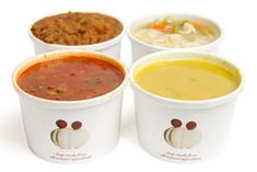 Branded food containers - on the go
