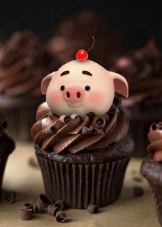 Happy Birthday Pig, Happy Birthday Celebration, Happy Birthday Wishes Cards, Happy Birthday Images, Pig Wallpaper, Cute Wallpaper Backgrounds, Cute Cartoon Wallpapers, This Little Piggy, Little Pigs