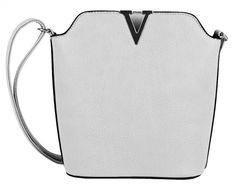 Elegantní menší dámská crossbody kabelka od výrobce Tapple zaujme moderní  zlatou ozdobou ve tvaru V. 5aa6ae8a939
