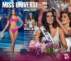 Congratulation ! ...Miss Universe 2014 [ 2015 ] Colombia Paulina Vega is crowned โคลอมเบีย สวยที่สุด