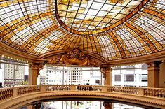 The Rotunda (Neiman Marcus): I'm not typically a tea girl, but sitting in this stunning room overlooking Union Square is worth it. The Rotunda is salvaged from the original City of Paris building built in 1896