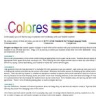 I know how hard it is to think of questions to ask on the spot when I want to practice colors with my students.  It's so nice to have a list of que...