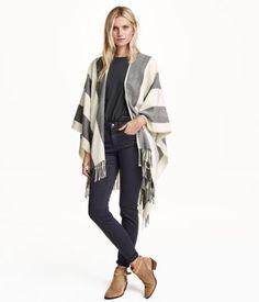 H&M Poncho in a wool blend £19.99