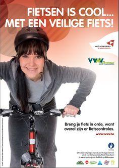 Fietsen is cool... met een veilige fiets is een campagne van de provincie West Vlaanderen om kinderen en jongeren te sensibiliseren omtrent het in orde stellen van hun fiets en gebruik van de fietsverlichting.