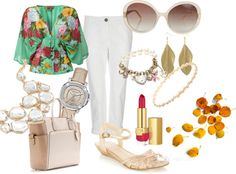 """One day in spring"" by polinha on Polyvore"