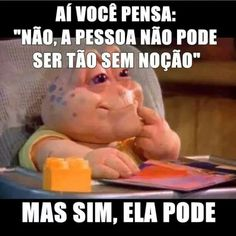 Pior que pode! kkkkkkk Funny Pins, A Funny, Hilarious, Funny Facts, Funny Quotes, Funny Memes, Life Affirming, Good Humor, Laughter