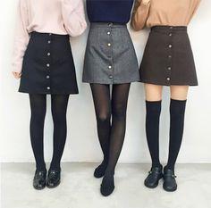 Imagem de girl, fashion, and skirt