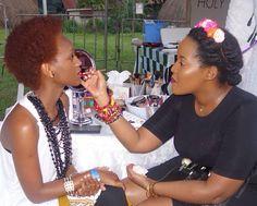 @rpenita passed by our #blanketsbeautybar tent for a lipstick touch up. She went for red #ombrelips.  #blanketsandwineklaxi #blanketsandwinekla #blanketsandwineug #blanketsandwine #makeupbyme #makeupbymi #amuaski  #BurundianMUA #BurundiOnTheMap #MUA #Uganda #Kampala #Burundi #Buja #Rwanda #Kigali #MakeupArtist #GlambyMI  #InstaBeauty #AfricanGirlsKillingIt #Team257 #Naturalista #BurundianMakeupArtist by glambymi