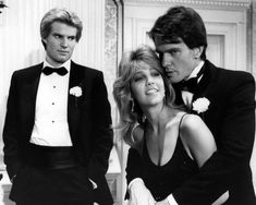 HEATHER LOCKLEAR JACK COLEMAN GORDON THOMSON DYNASTY TUXEDO PHOTO OR POSTER Jack Coleman, Dynasty Tv Show, Der Denver Clan, Heather Locklear, Kino Film, Young And The Restless, Ex Wives, Black N White Images, Best Tv