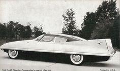 1957 concept show  Chrysler Dart