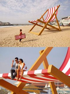 The World's Largest Deck Chair