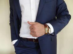 Men's Brown Leather STAINLESS STEEL Bracelet Men's #bracelet #for #summer #fashion