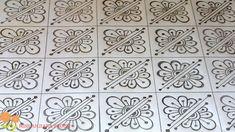 nakshi kantha How to make Nakshi kantha design,নকশী কাথার ডিজাইন Hand Embroidery Design Patterns, Textile Pattern Design, Embroidery Suits Design, Embroidery Monogram, Modern Embroidery, Aari Embroidery, Creative Embroidery, Simple Rangoli Border Designs, Watercolor Pattern