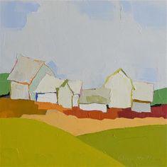 "Daily+Paintworks+-+""Farmland+Symphony""+-+Original+Fine+Art+for+Sale+-+©+Donna+Walker"