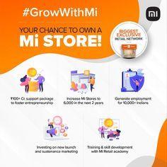 Xiaomi Mi India #manufactures and distributes #mobilephones and consumer #electronics. The company also develops #mobileapplications. It offers internet value-added products including TV boxes, backpacks, phone screen protectors, #earphones, and more. 🗝 Currently we are giving #franchise opportunity #northindia & #eastindia,you can apply for #businessopportunity exclusive at #FranchiseMartIndia #digitalmarketing #digitalindia Retail Franchise, Digital India, Phone Screen Protector, New Launch, Mobile Application, Business Opportunities, Entrepreneurship, The Fosters, Digital Marketing