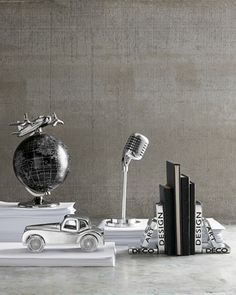 Tribeca Globe & Plane - Horchow #giftsforhim #office