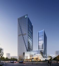 Silkroad Rendering for High Rise Building