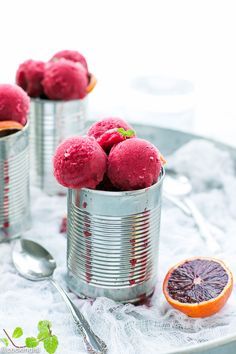Easy Blood Orange Sorbet Recipe – simple to make with bright concentrated flavor and sweet taste, this sorbet is just amazing! I believe it is the perfect time to make a citrus flavored dessert. Blood oranges are easy to find here in the US at this time of the year. The recipe is super simple …