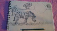 In progress :Zebra picture