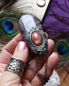 Stella's Wisdom  Sparkling Gemmy Sunstone & by LunaBlueBoutique