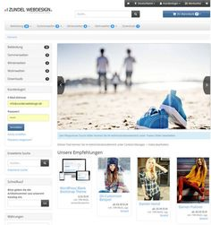 18 best Gambio Responsive Shop Templates images on Pinterest | Role ...
